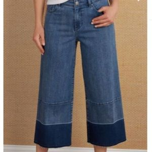 Soft Surroundings Elson Cropped Jeans